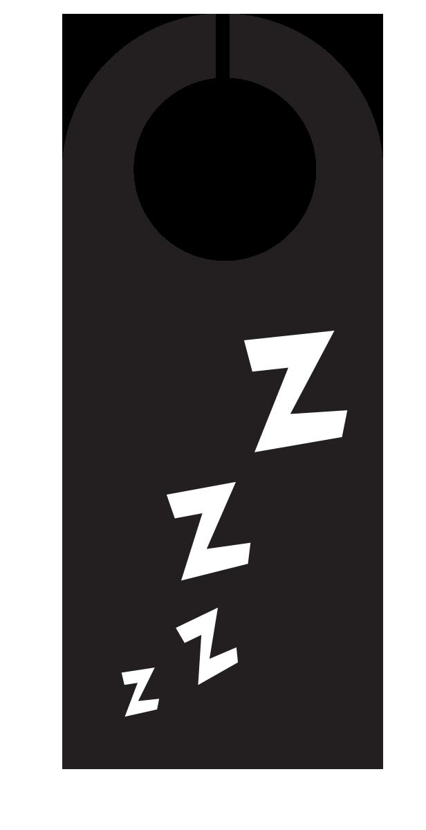door hanger zzzzzz